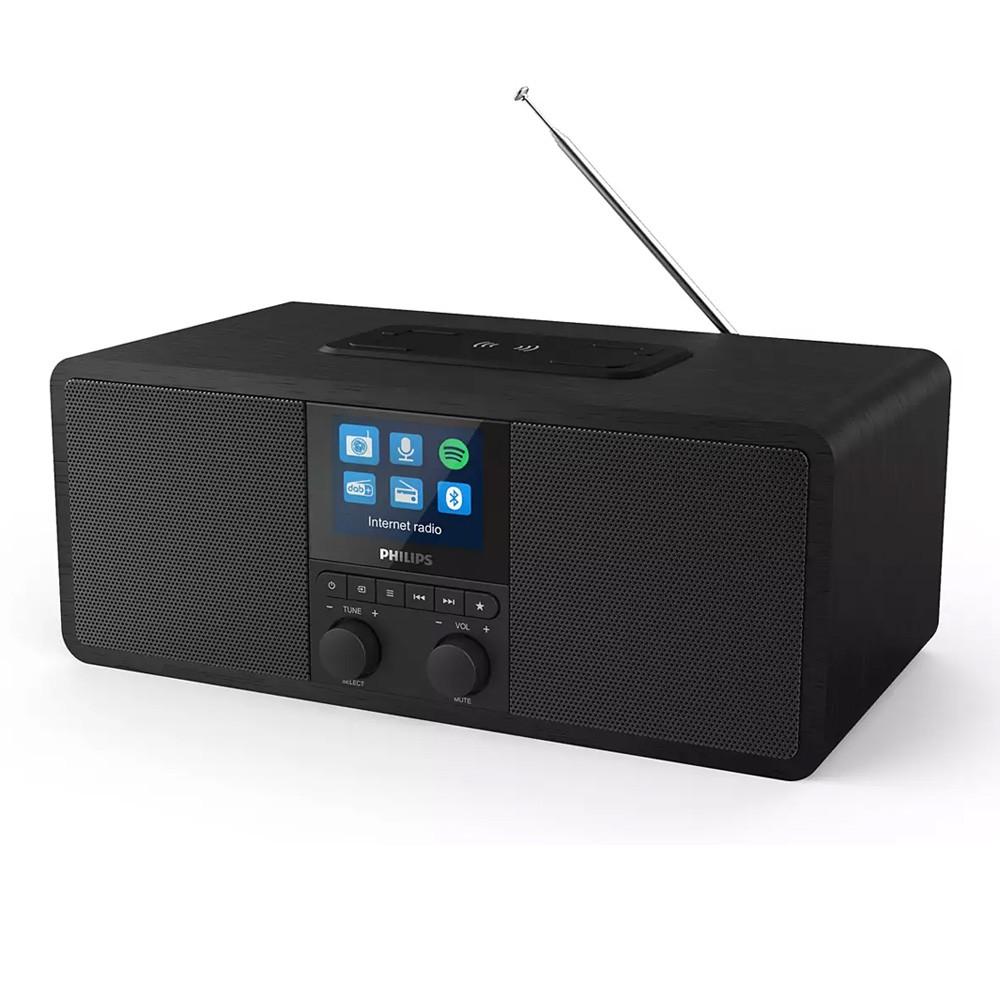 Διαδικτυακό ραδιόφωνο Philips TAR8805/10 6W DAB+ με Ασύρματη Φόρτιση και Spotify Connect