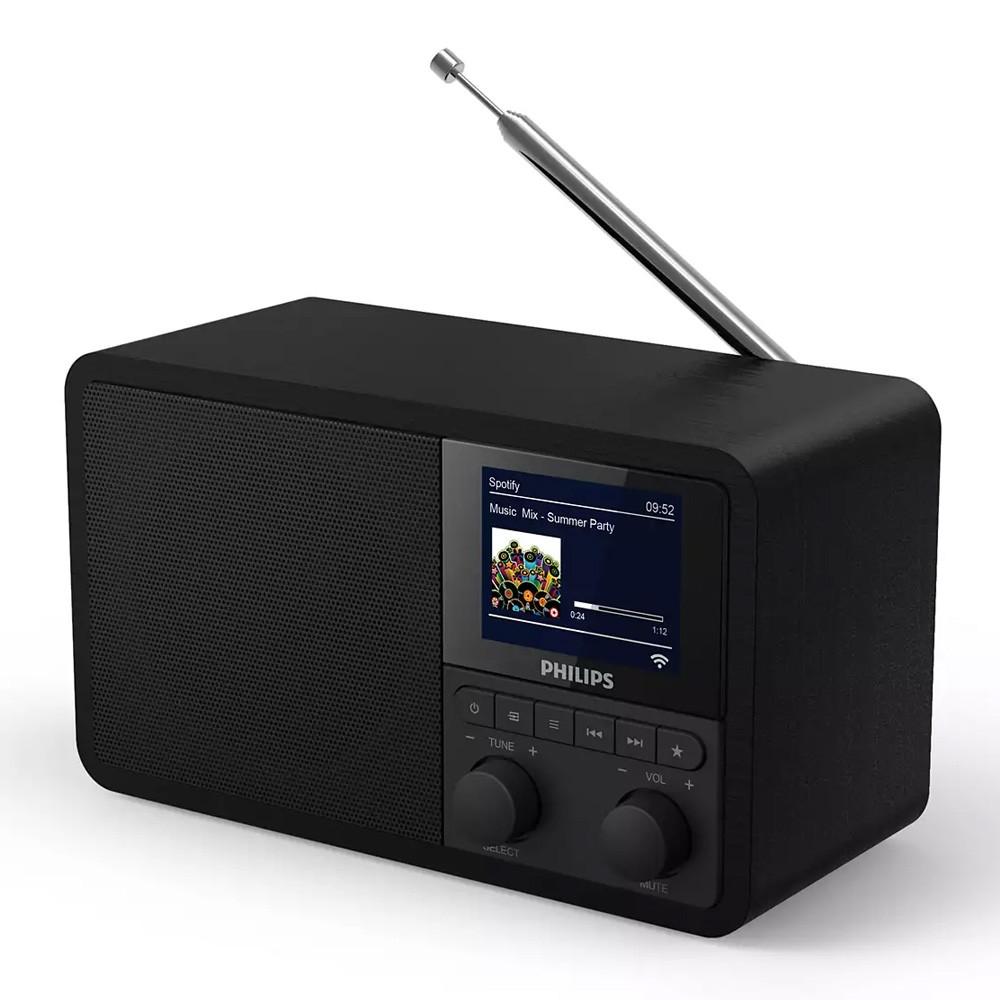 Φορητό Internet Ράδιο Philips TAPR802/12 Μαύρο με Spotify Connect