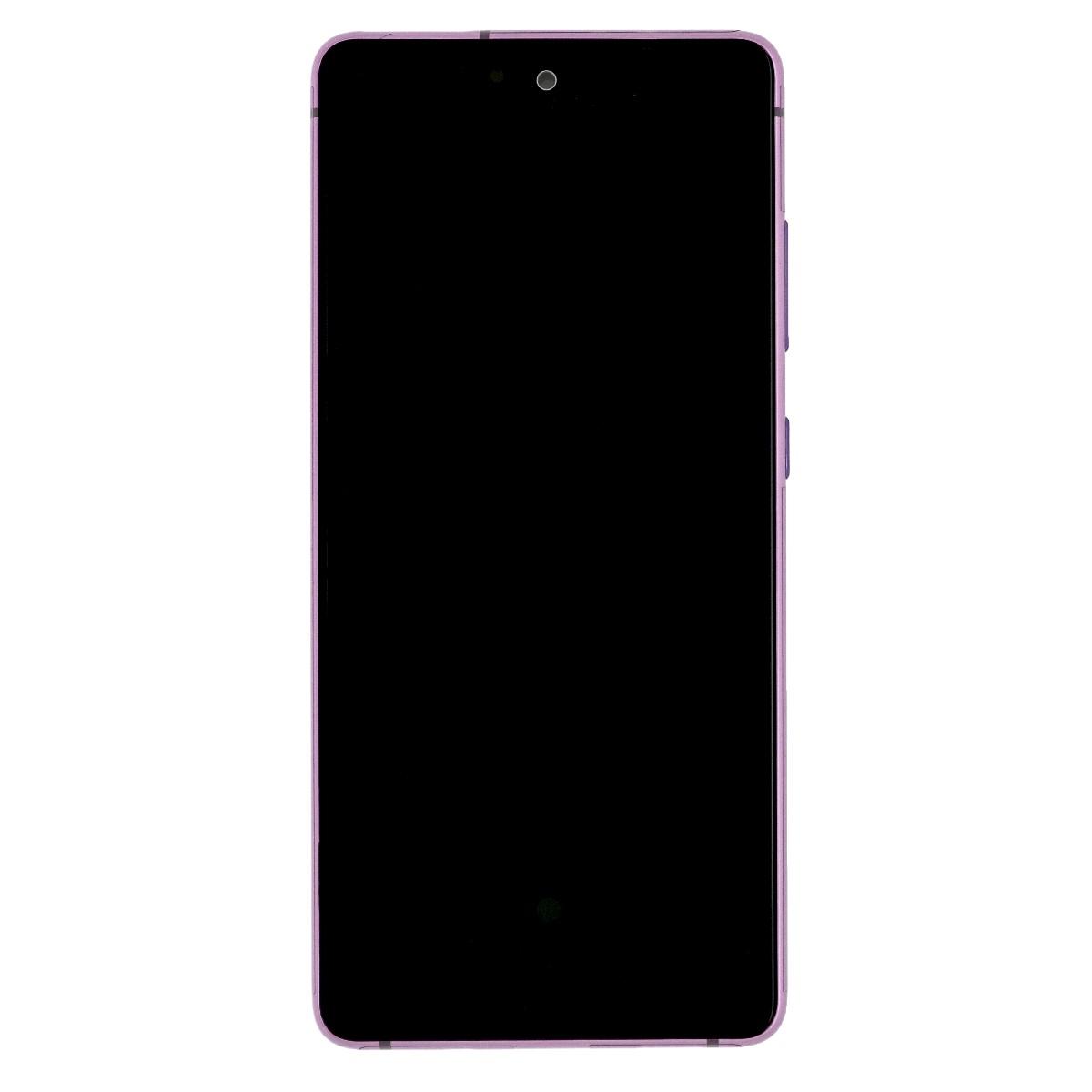 Γνήσια Οθόνη με Μηχανισμό Αφής για Samsung SM-G780F/Galaxy S20 FE GH82-24220C Μωβ