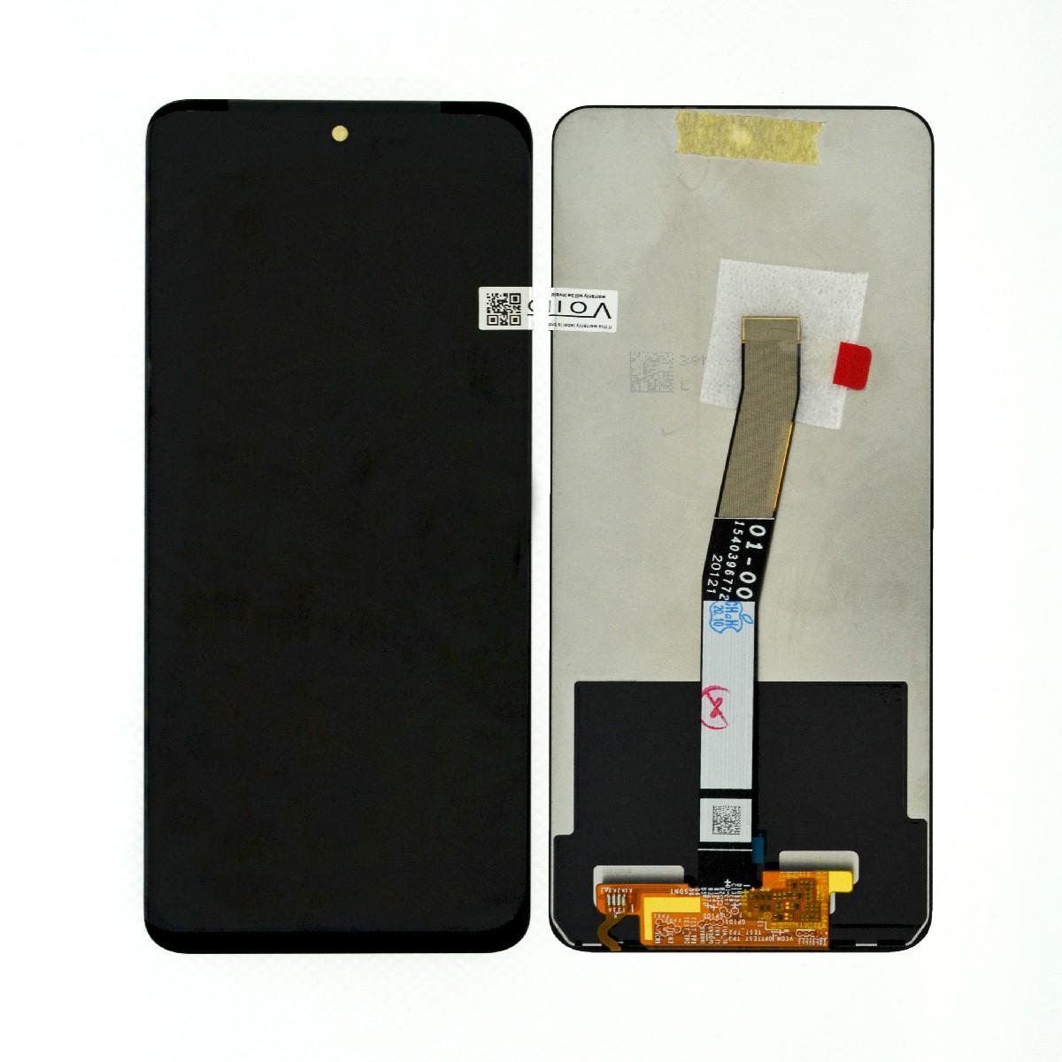 Οθόνη & Μηχανισμός Αφής Xiaomi Redmi Note 9 Pro Μαύρη με Μεσαίο Πλαίσιο OEM Type A