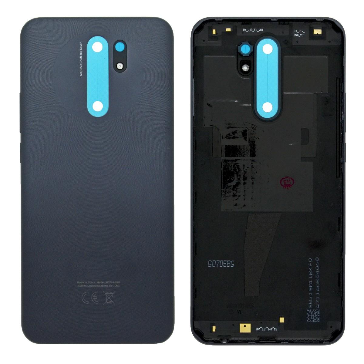 Καπάκι Μπαταρίας για Xiaomi Redmi 9 Γκρι OEM Type A