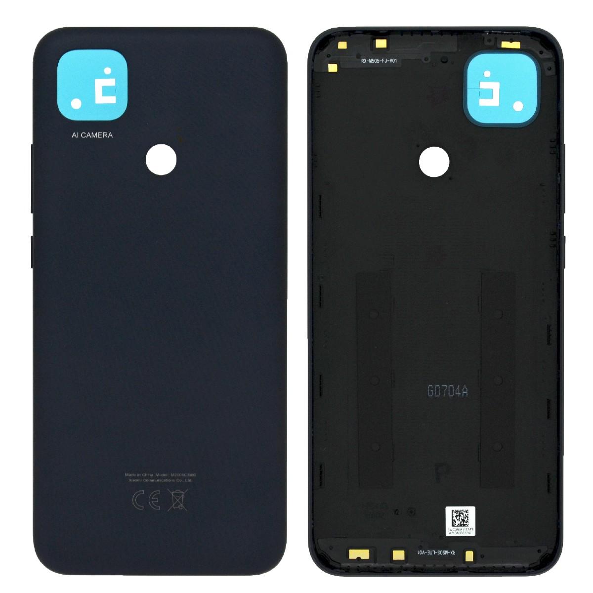 Καπάκι Μπαταρίας για Xiaomi Redmi Note 9C Μαύρο OEM Type A