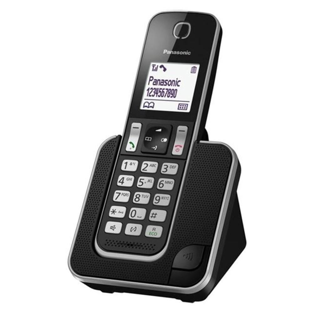 Ασύρματο Ψηφιακό Τηλέφωνο Panasonic KX-TGD310GRB με Λειτουργία Ενδοεπικοινωνίας και Baby Monitor Μαύρο