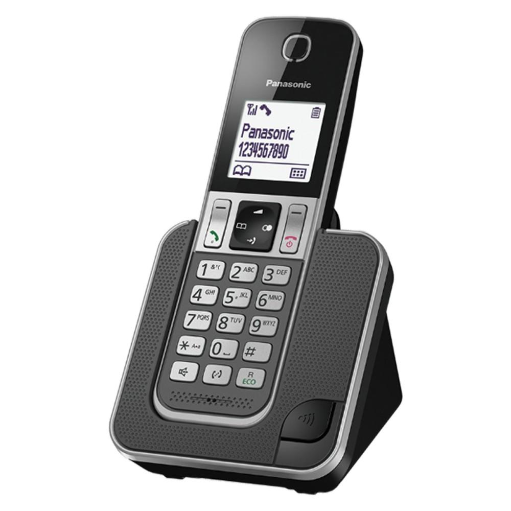 Ασύρματο Ψηφιακό Τηλέφωνο Panasonic KX-TGD310GRG με Λειτουργία Ενδοεπικοινωνίας και Baby Monitor Γκρι
