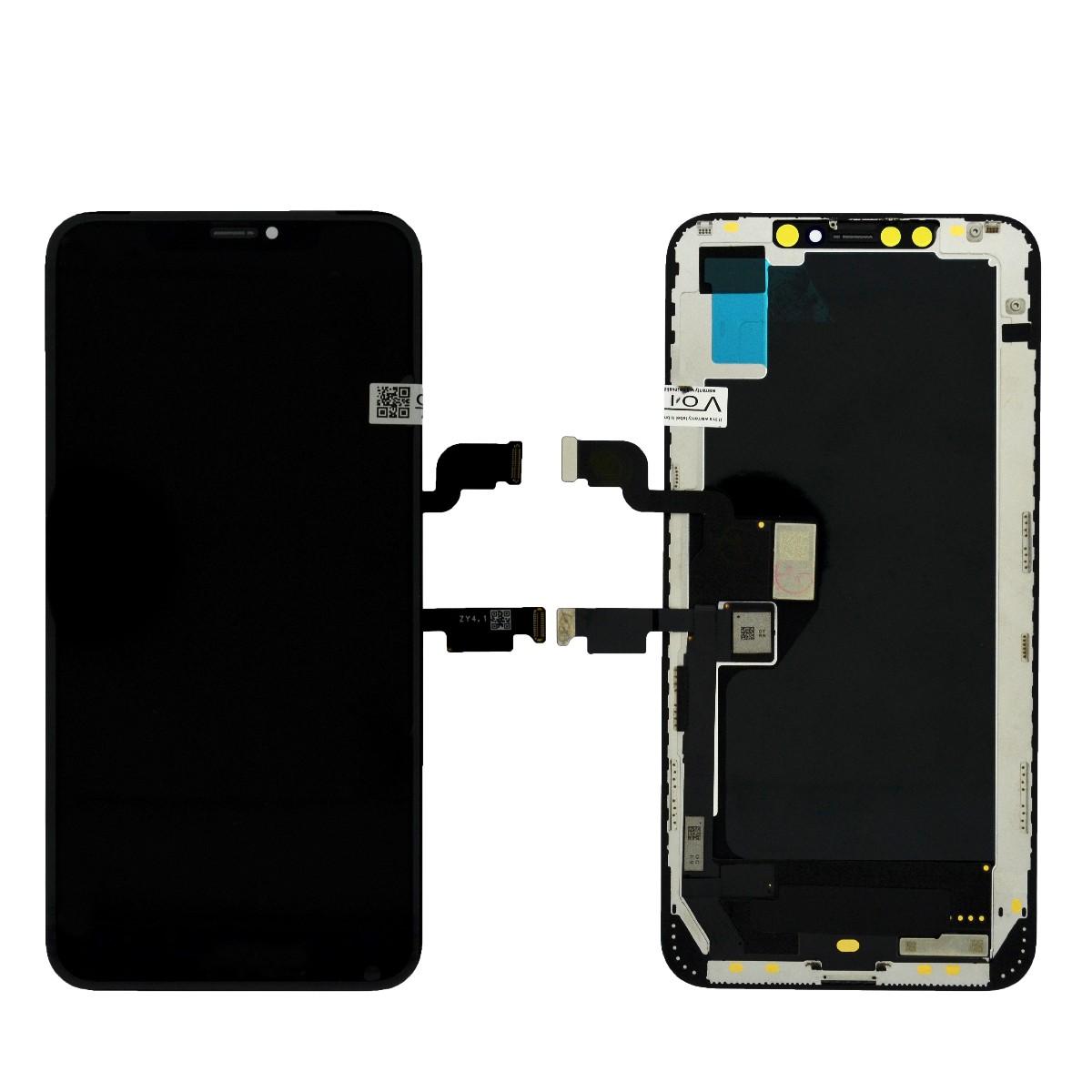 Οθόνη & Μηχανισμός Αφής Apple iPhone XS Max OLED ZY630 OEM Type A Μαύρη