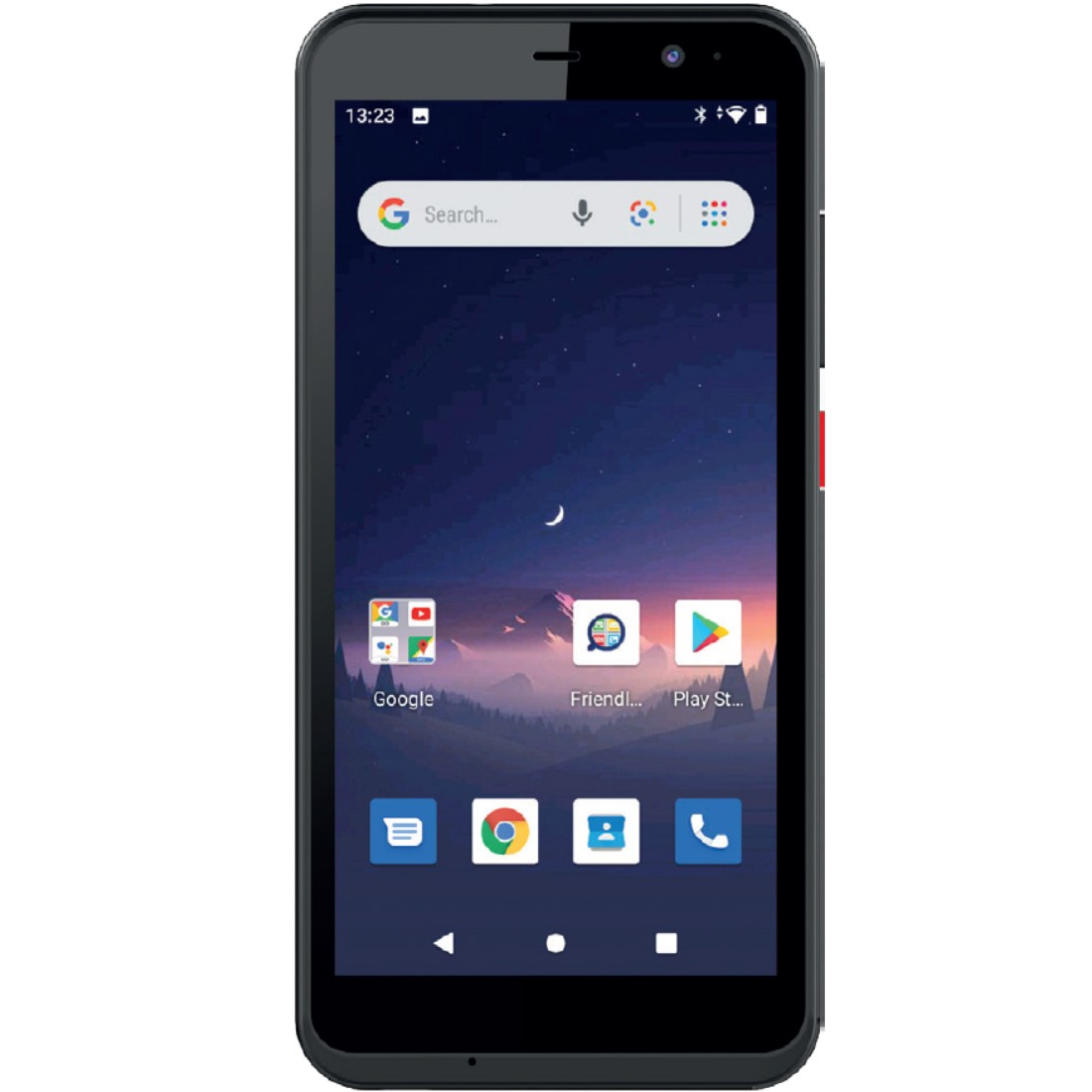 "Maxcom MS515 (Dual Sim) 4G 5"", NFC Android Go, HD IPS Quad Core 1GB/8GB Μαύρο"