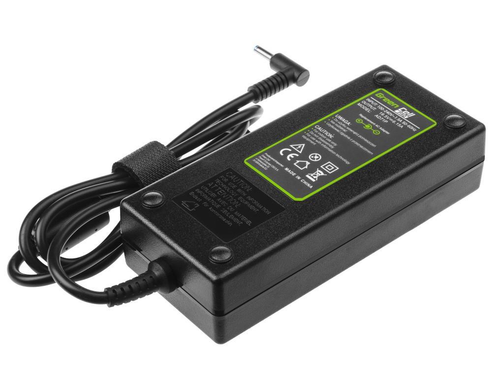 Τροφοδοτικό Laptop Green Cell PRO AD71P Συμβατό με HP Omen HP Envy  19.5V 6.15A 120W Κονέκτορας 4.5-3.0mm Καλώδιο 1.2m