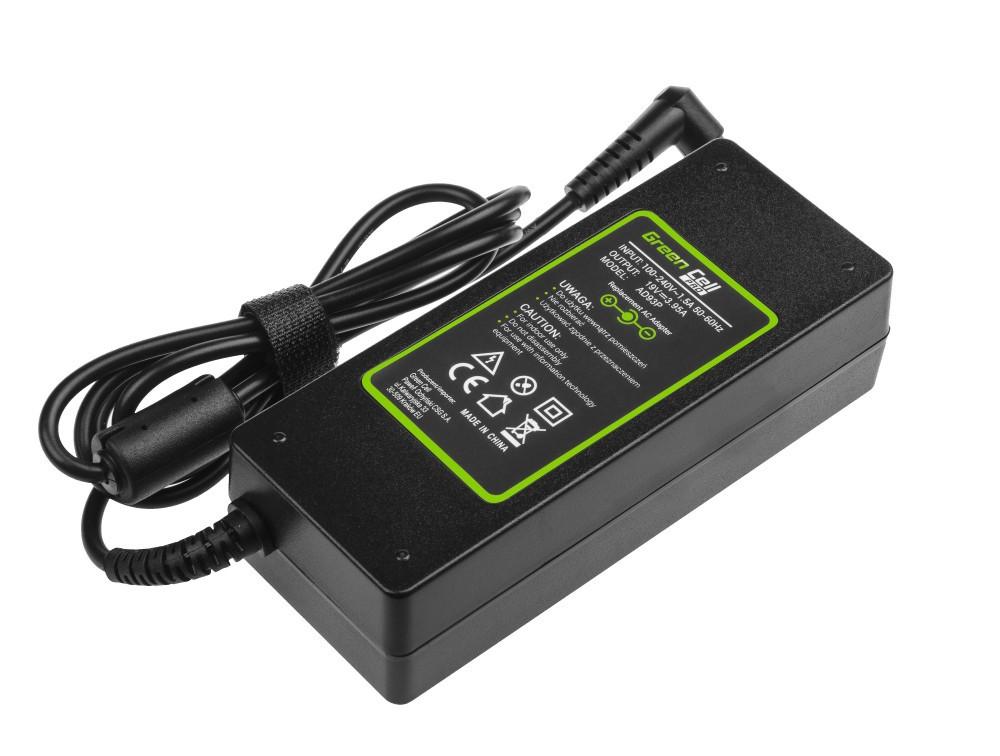 Τροφοδοτικό Laptop Green Cell PRO AD93P Συμβατό με Acer Aspire 19V 3.95A 75W Κονέκτορας 5.5-1.7mm Καλώδιο 1.2m