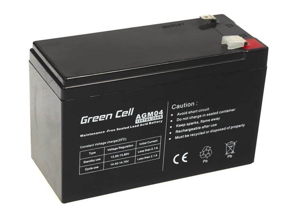 Μπαταρία για UPS Green Cell AGM04 AGM  (12V 7Ah) 2kg 151mm x 65mm x 94mm