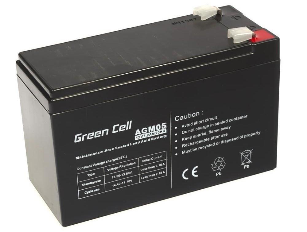 Μπαταρία για UPS Green Cell AGM05 AGM (12V 7.2Ah) 2.15 kg 151mm x 65mm x 94mm