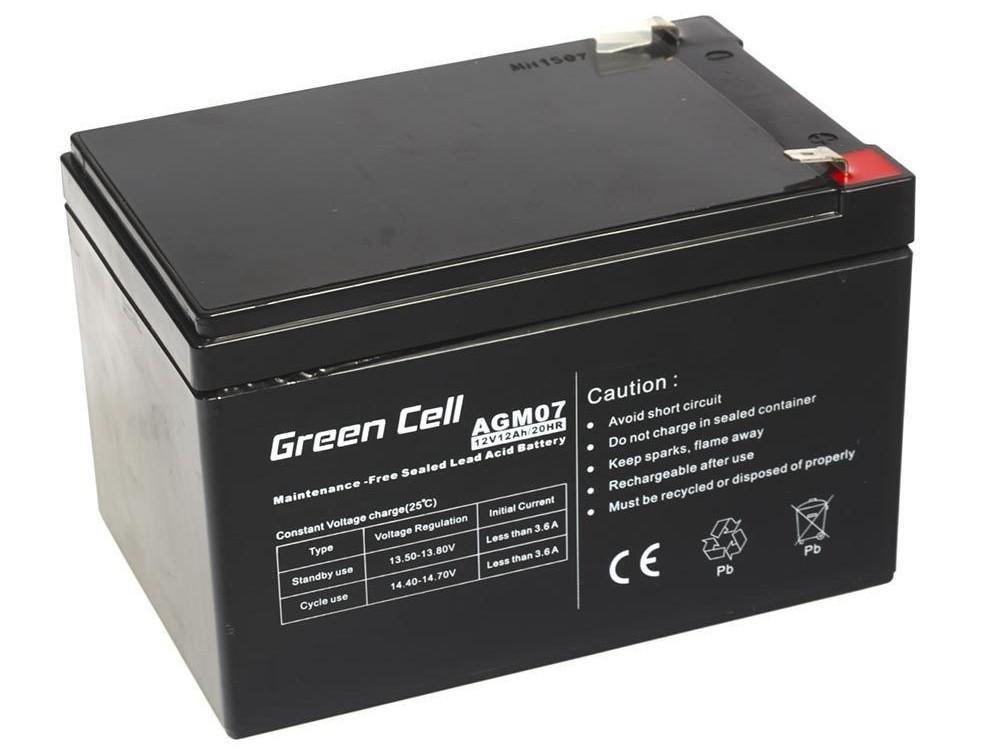 Μπαταρία για UPS Green Cell AGM07 AGM (12V 12Ah) 3,4 kg 151mm x 98mm x 94mm