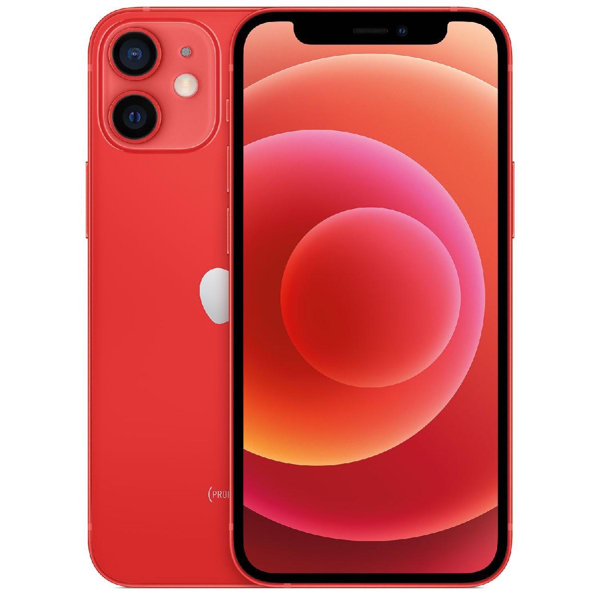 """Apple iPhone 12 mini 5G 5.4"""" 4GB/64GB NFC Κόκκινο MGE03"""
