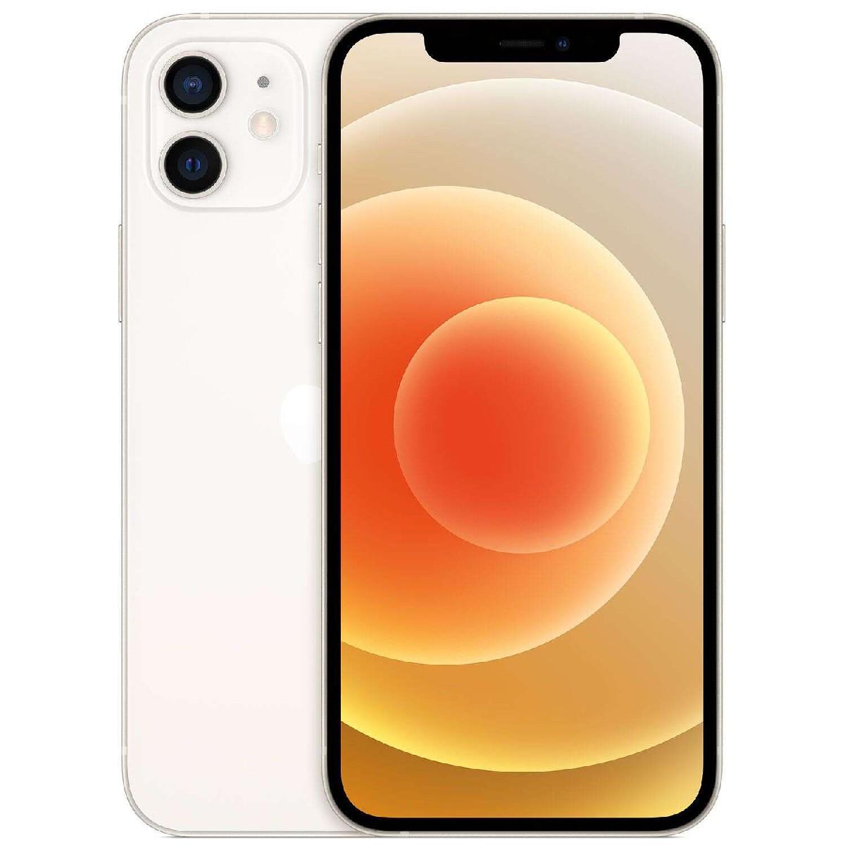 """Apple iPhone 12 mini 5G 5.4"""" 4GB/128GB NFC Λευκό MGE43"""