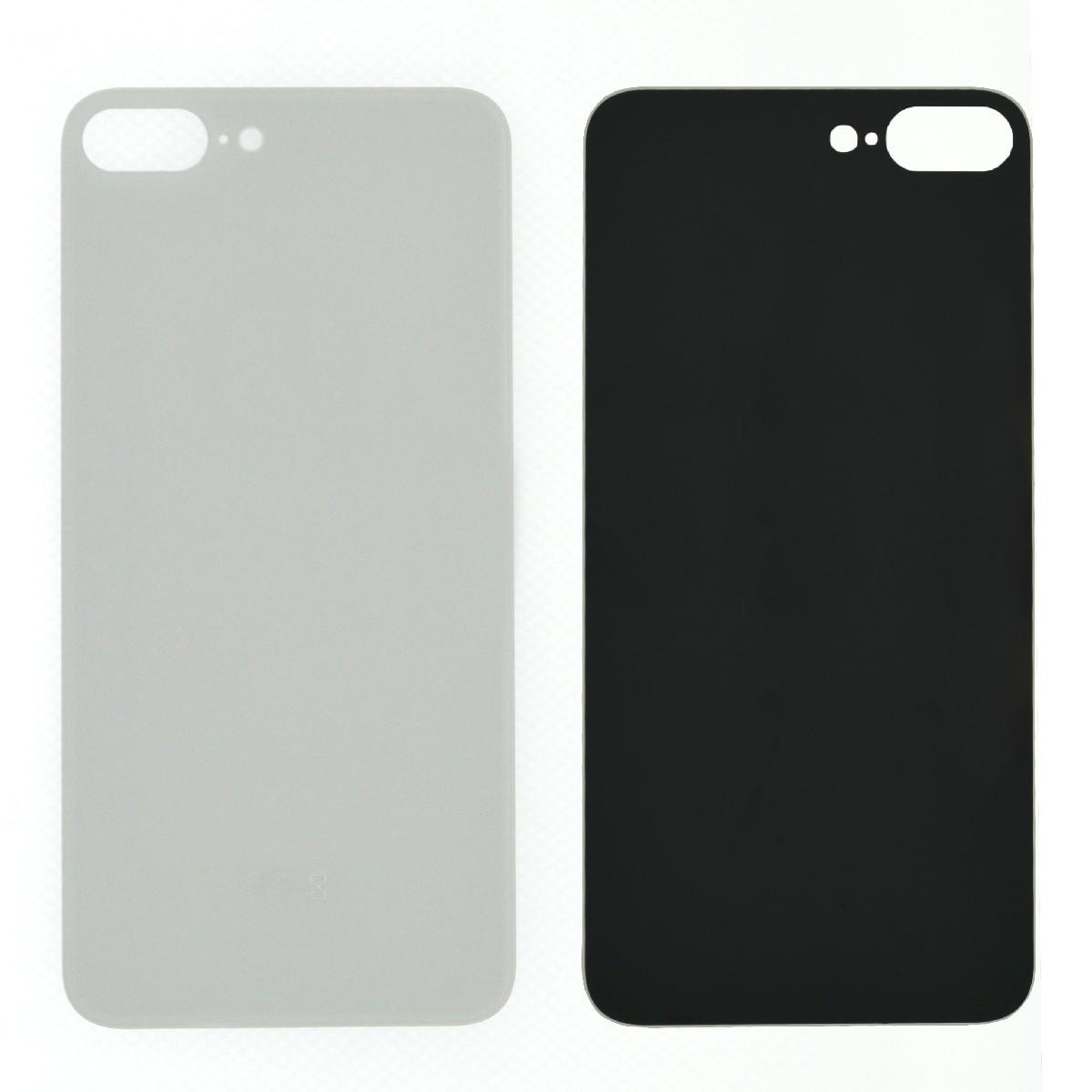 Πίσω Κάλυμμα Apple iPhone 8 Plus Λευκό χωρίς Τζαμάκι Κάμερας OEM