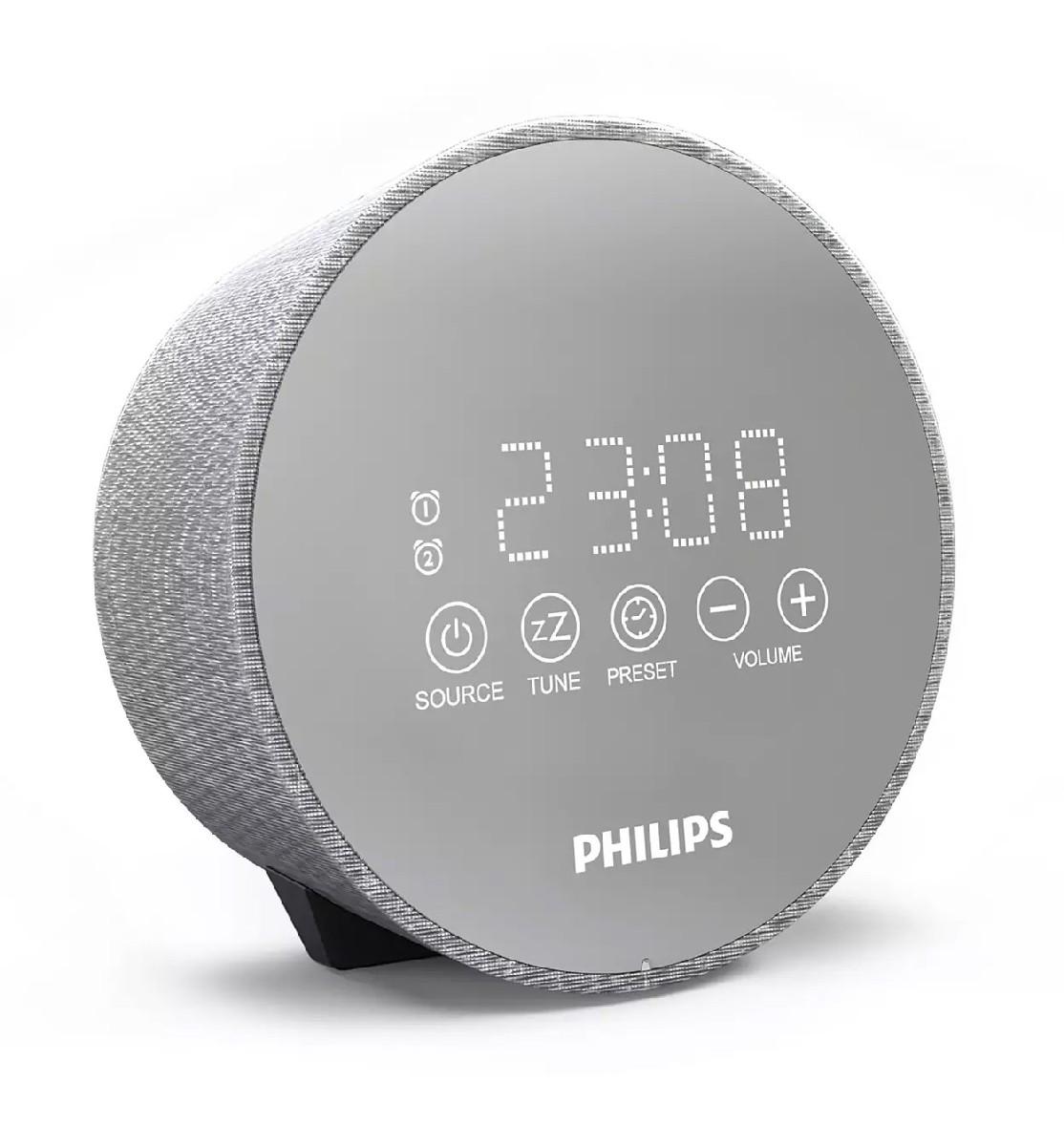 Ραδιορολόι Philips TADR402/12 με Χρονοδιακόπτη Θύρα USB και Νυχτερινό Φως