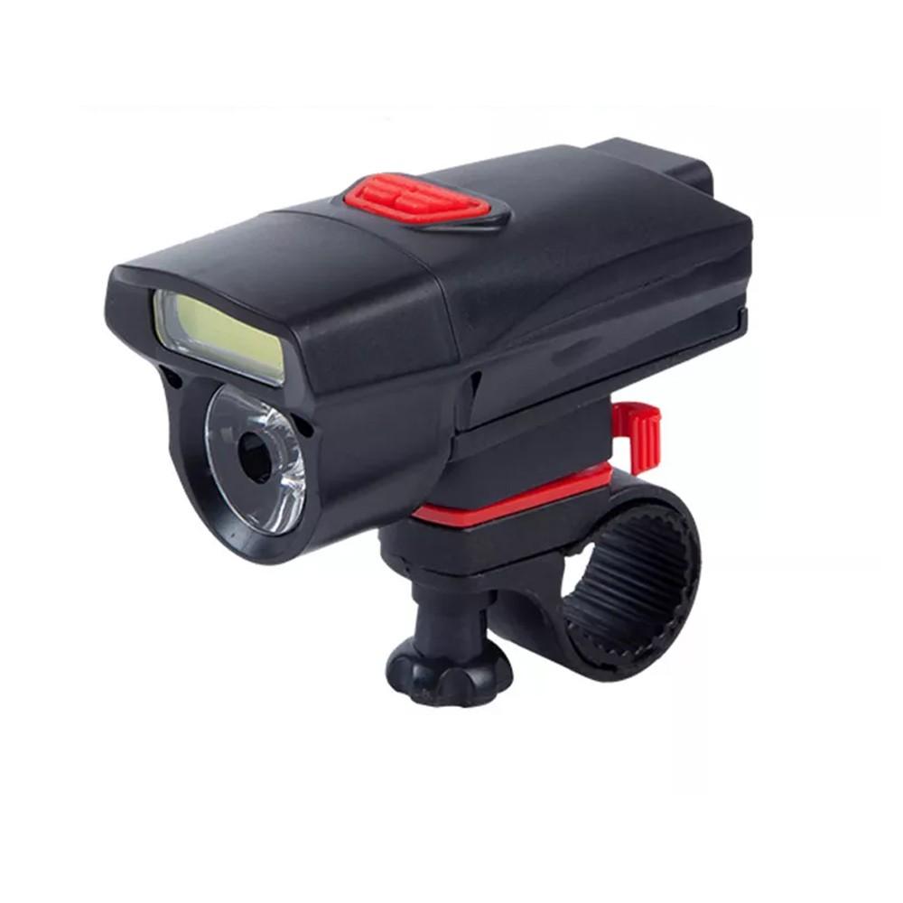 Φακός με Βάση Ποδηλάτου Kiakuo KK-B20 LED Περιστρεφόμενος και με Μεγάλη Αυτονομία Μαύρο
