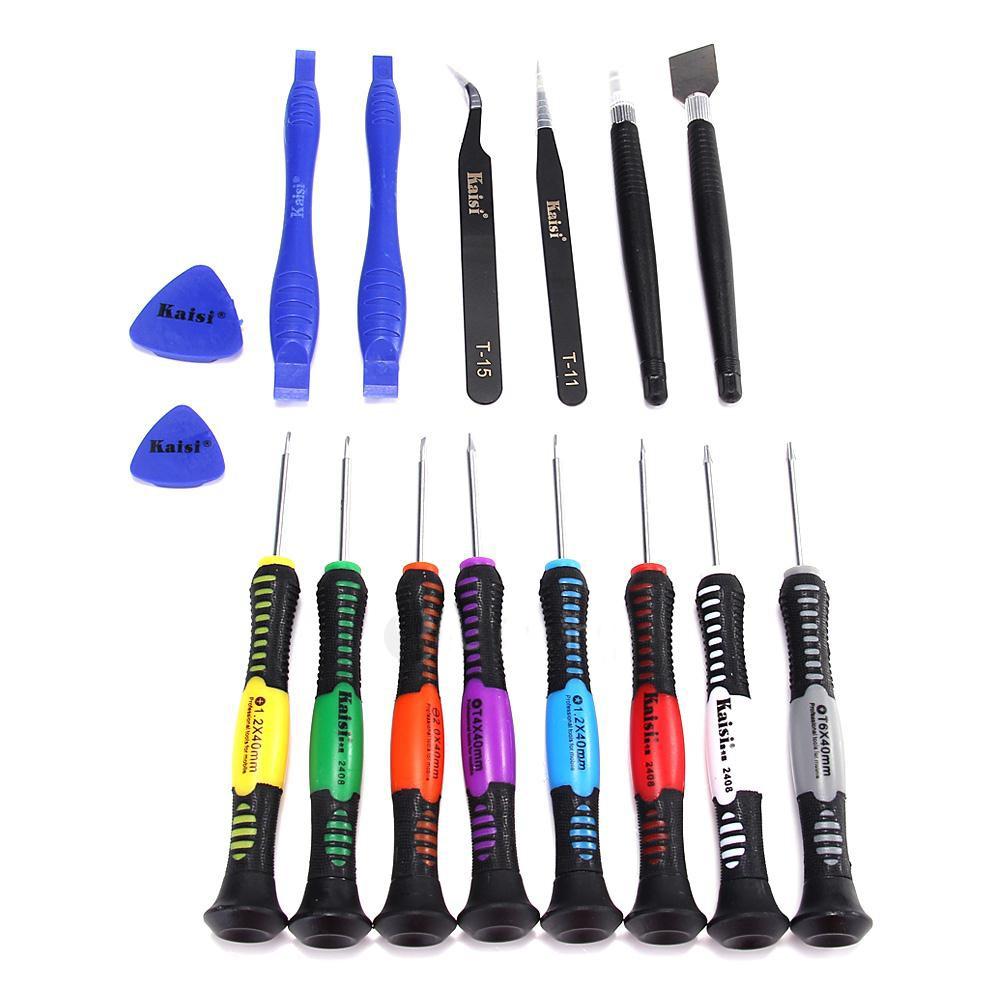 Κατσαβίδια Kaisi KS-2408 Σετ 15 Τεμαχίων με Εργαλεία Επισκευής Συσκευών