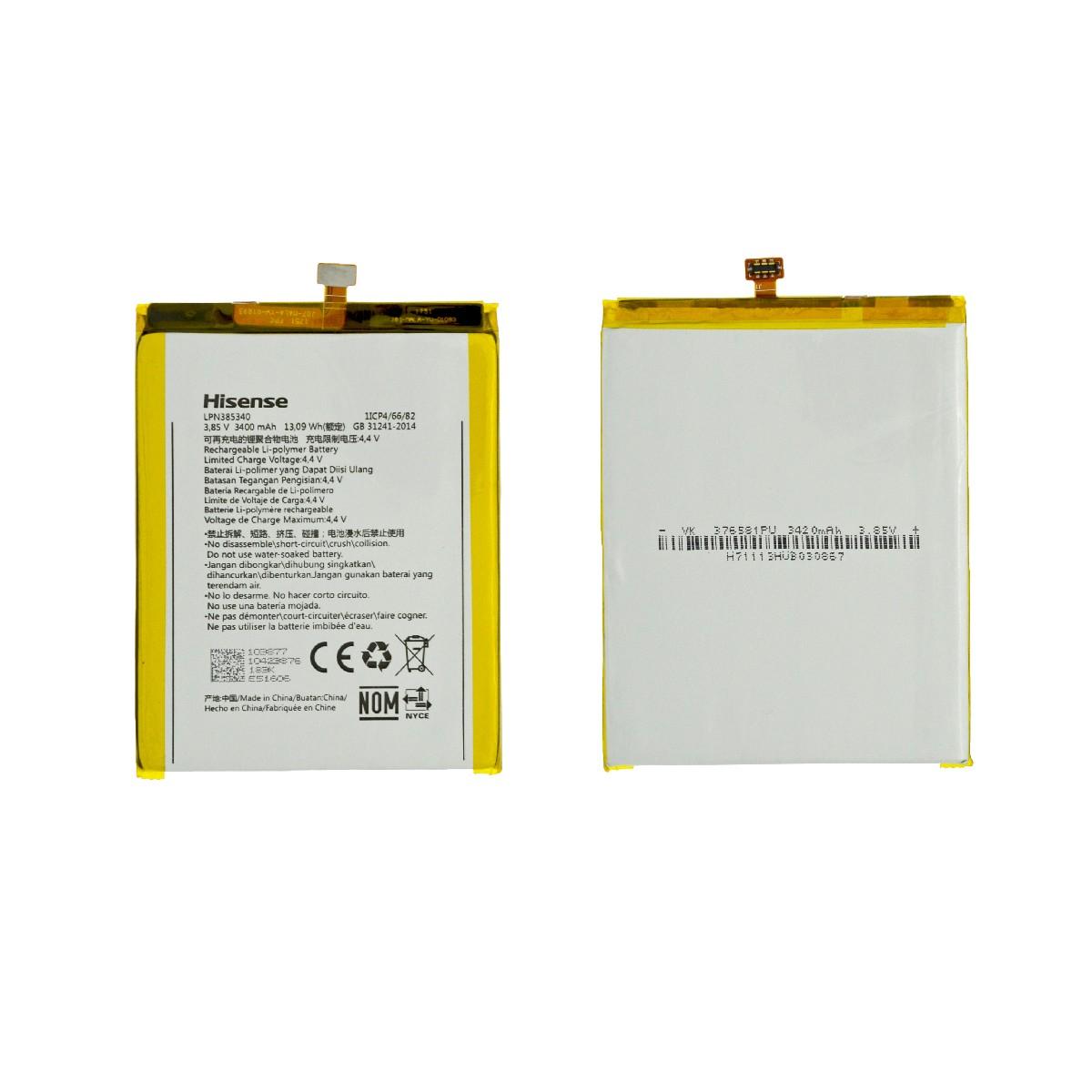 Μπαταρία Hisense LPN385340 για F24 3400mAh 3.85V Original Bulk
