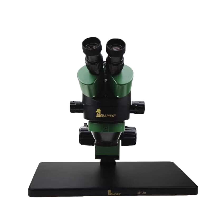 Μικροσκόπιο Mapies AP-30 με 22MP Φακό Λήψης Φωτογραφιών και Βίντεο και Επιπλέον Παρελκόμενα, Οθόνη, Φακό LED και Βάση