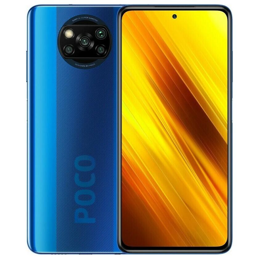 "Xiaomi Poco X3 Dual Sim 6.67"" 6GB/64GB 4G NFC Μπλέ M2007J20CG"