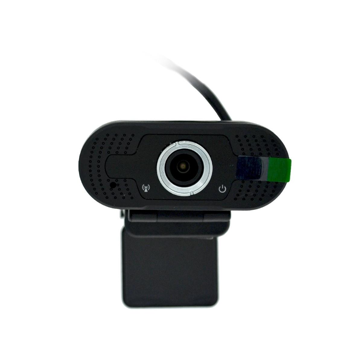 USB Webcam Mobilis W8-2 Full HD 1080P 1920X1080 με 2MP και Ενσωματωμένο Μικρόφωνο. Μαύρη