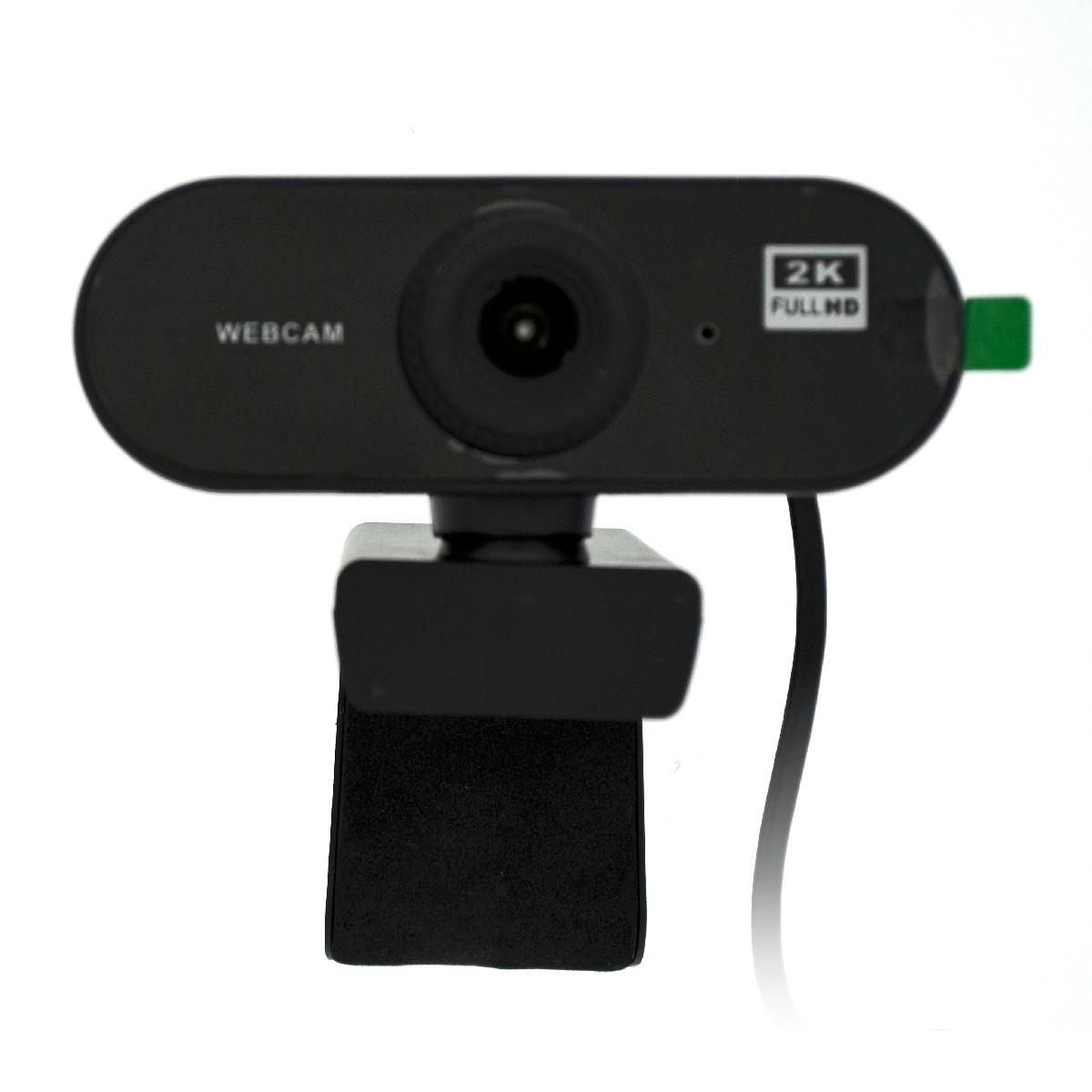 USB Webcam Mobilis PC01-2 Full HD 1080P 2560X1440 με Ενσωματωμένο Μικρόφωνο και Εστίαση 20mm. Μαύρη