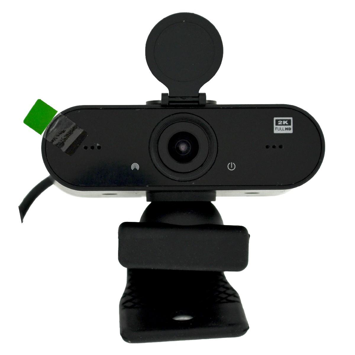 USB Webcam Mobilis H5 Full HD 2K 2560X1440 με Ενσωματωμένο Μικρόφωνο και Υψηλή Ανάλυση. Μαύρη