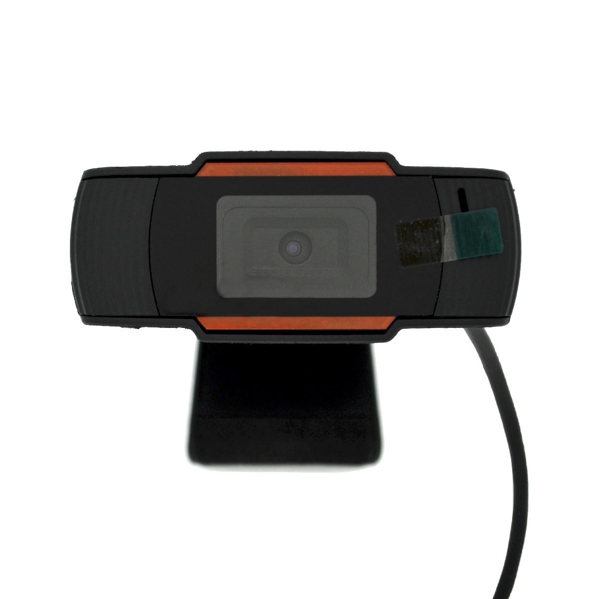 USB Webcam Mobilis P1 Full HD 1080P 1920X1080 με 20mm Εστίαση και Ενσωματωμένο Μικρόφωνο. Μαύρη