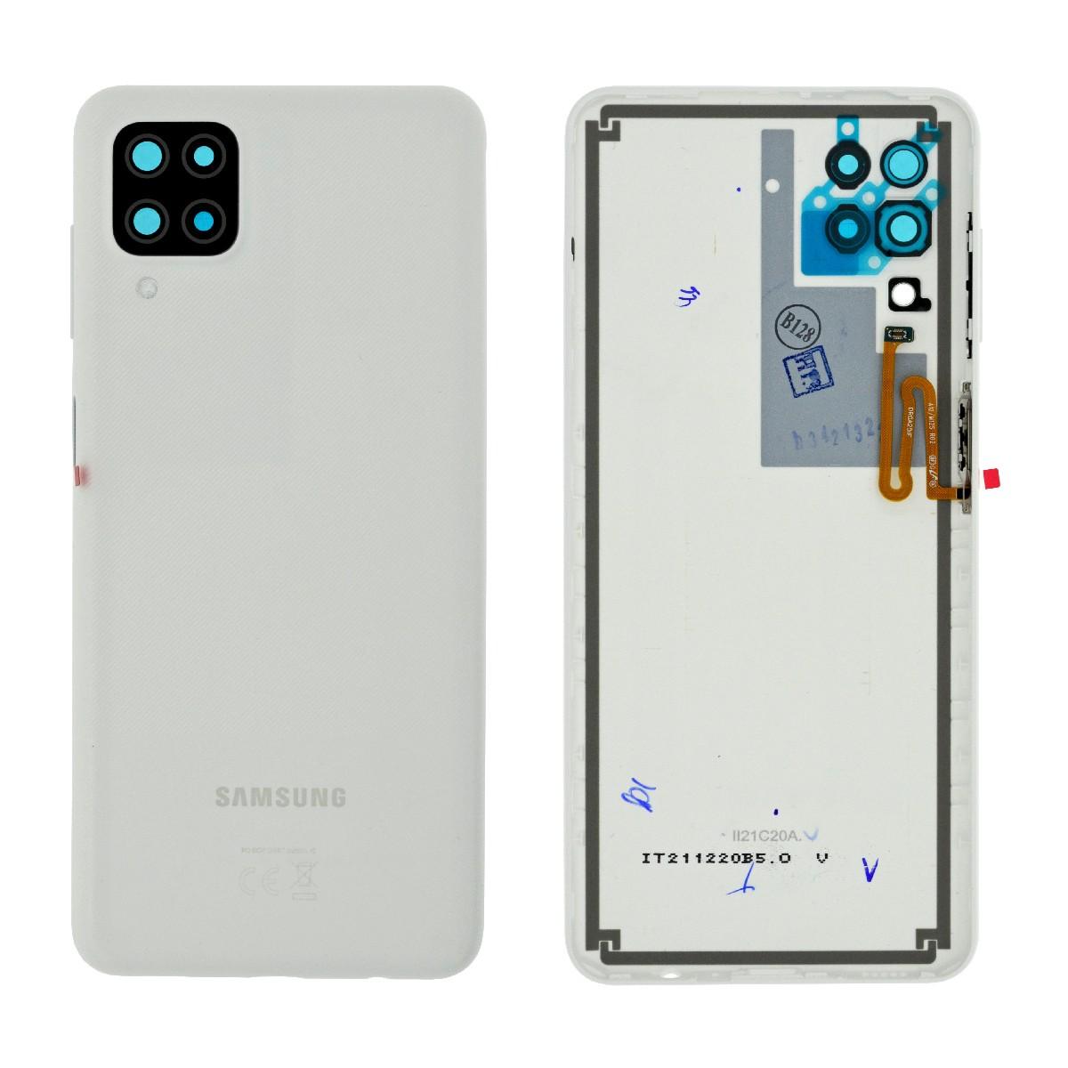 Καπάκι Μπαταρίας Samsung SM-A125F Galaxy A12 Λευκό Original GH82-24487B