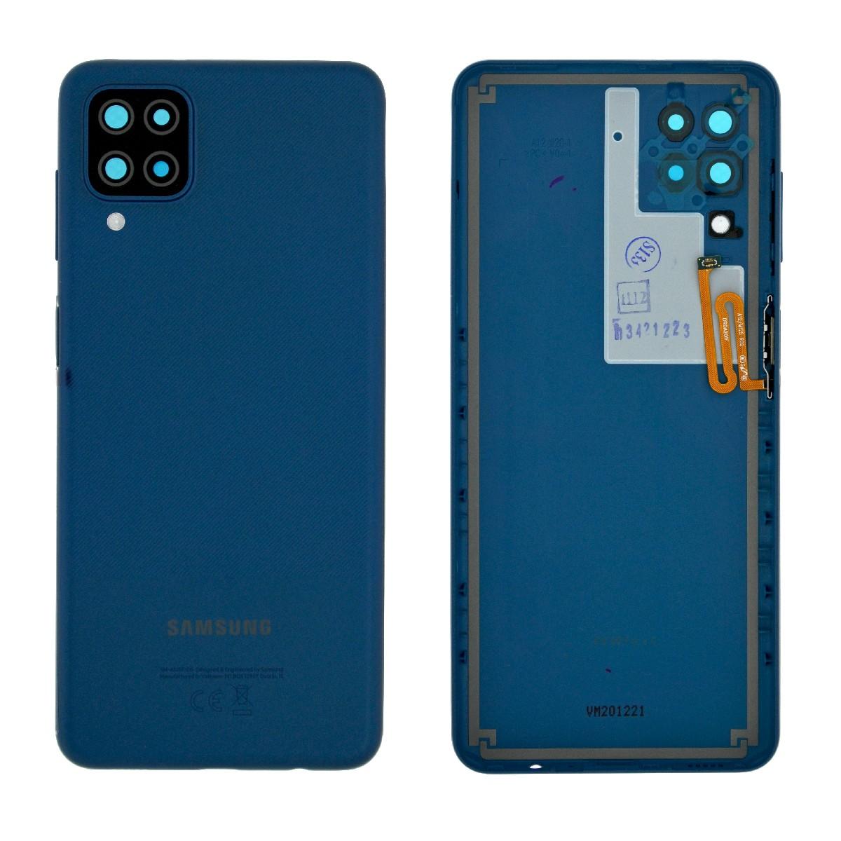 Καπάκι Μπαταρίας Samsung SM-A125F Galaxy A12 Μπλέ Original GH82-24487C
