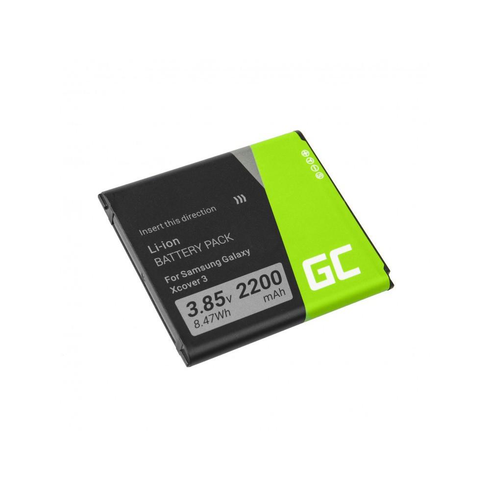 Μπαταρία Green Cell BP104 τύπου Samsung Galaxy Xcover 3 SM-G388F EB-BG388BBE 2200 mAh 3.8V