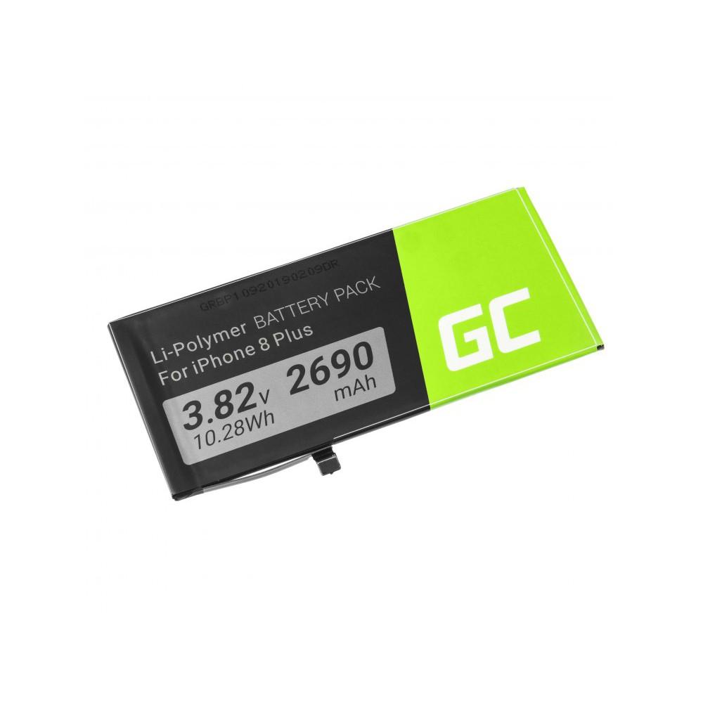 Μπαταρία Green Cell BP109 Τύπου Apple iPhone 8 Plus A1864 2690mAh 3.82V με Ταινία Διπλής Όψης