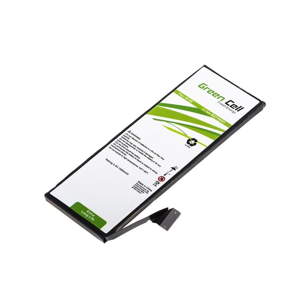 Μπαταρία  Green Cell BP31 Τύπου Apple iPhone 5S 1560mAh 3.8V με Ταινία Διπλής Όψης