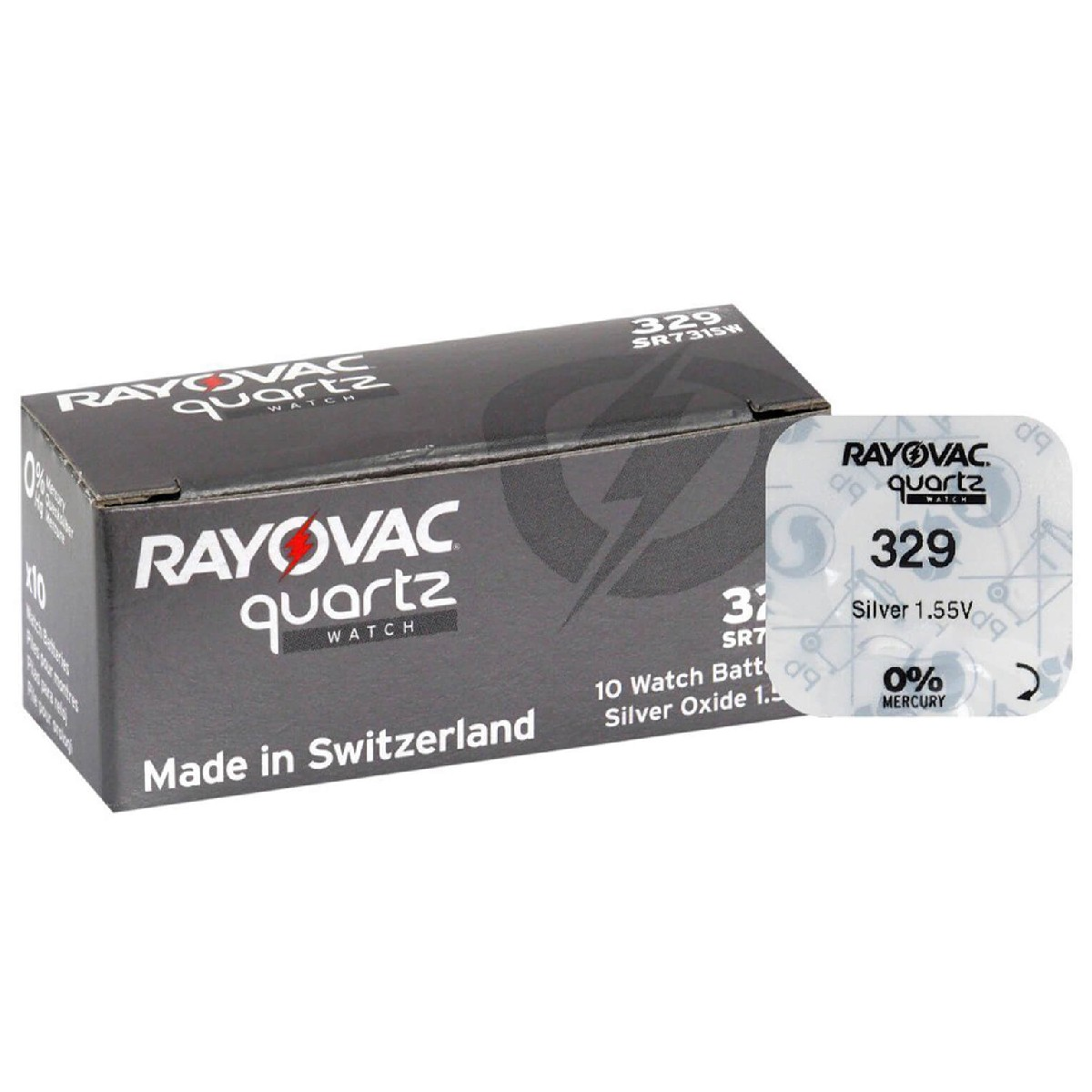 Buttoncell Rayovac 329 SR731SW Τεμ. 1