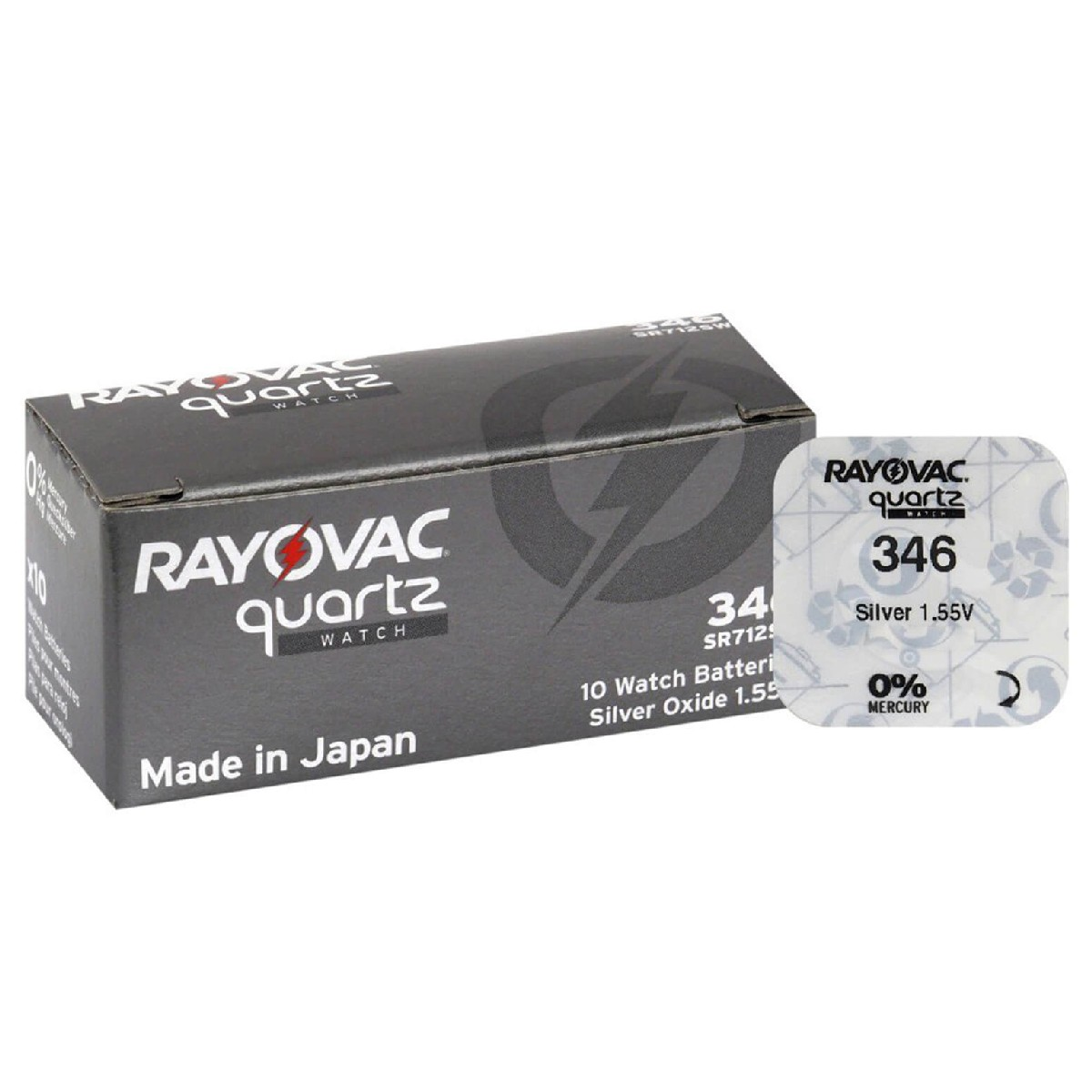 Buttoncell Rayovac 346 SR712SW Τεμ. 1