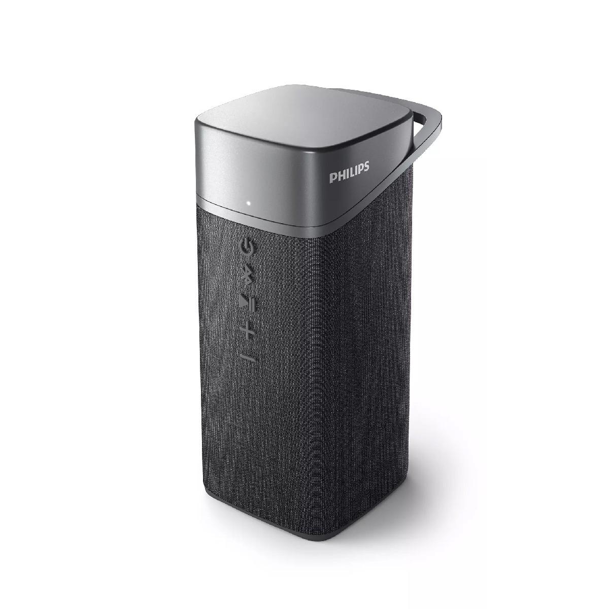Φορητό Ηχείο Bluetooth Philips TAS3505/00 Γκρι Αδιάβροχο IPX7 5W 1000mAh USB-C