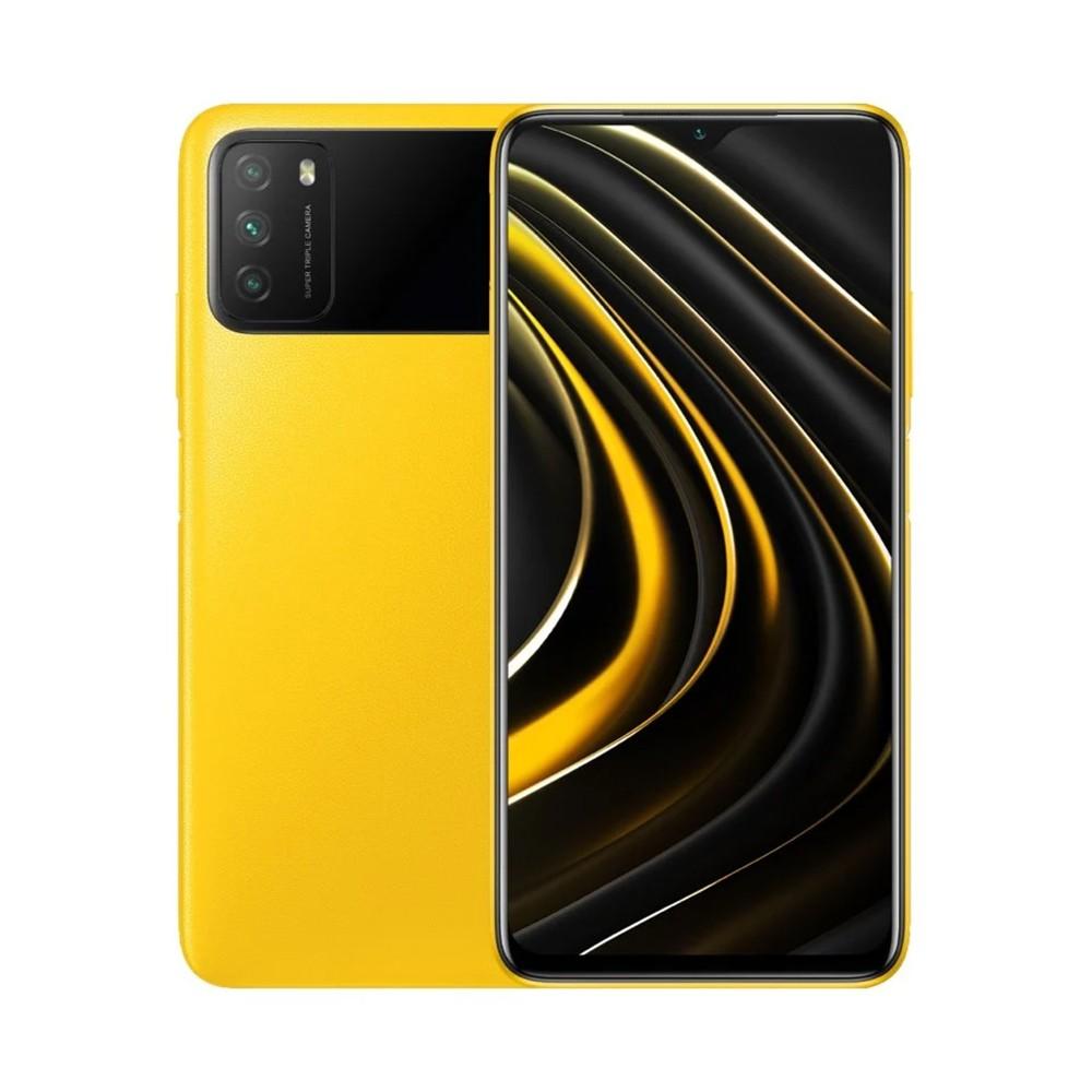 "Xiaomi Poco M3 Dual Sim 6.53"" 4GB/64GB 4G Κίτρινο M2010J19CG"