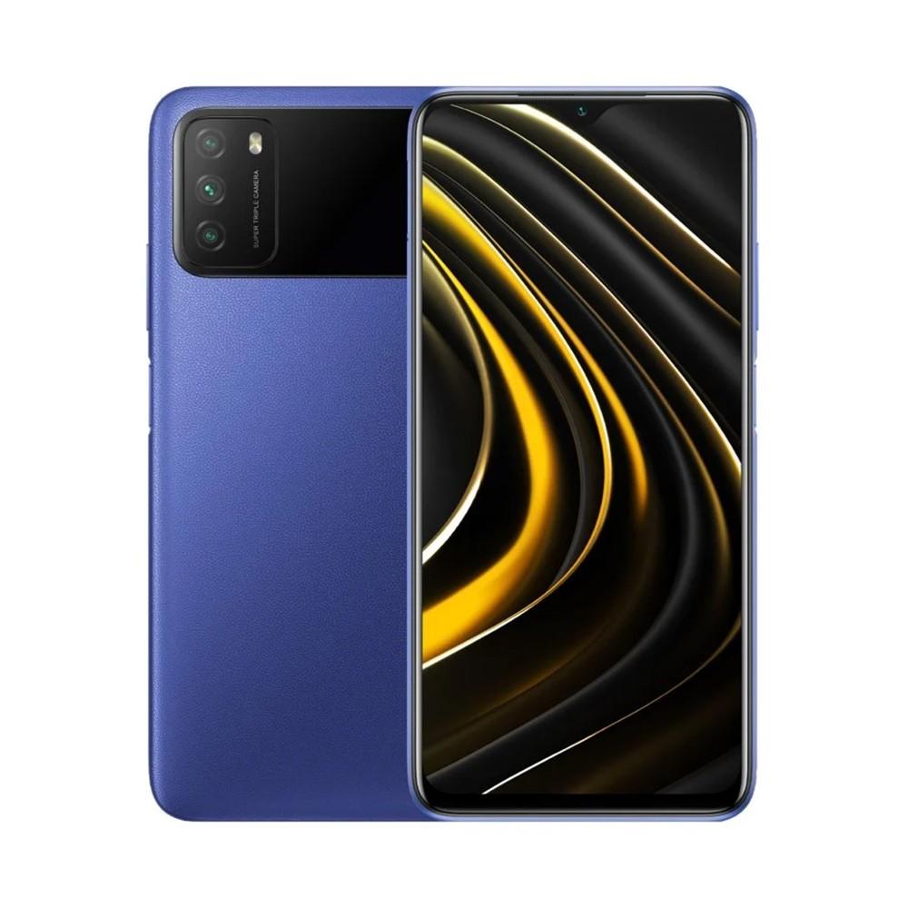 "Xiaomi Poco M3 Dual Sim 6.53"" 4GB/64GB 4G Μπλέ M2010J19CG"