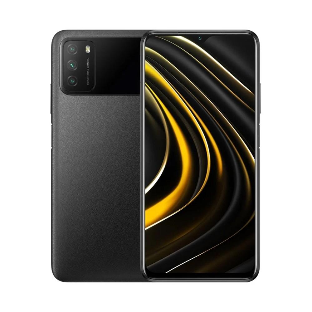 "Xiaomi Poco M3 Dual Sim 6.53"" 4GB/64GB 4G Μαύρο M2010J19CG"