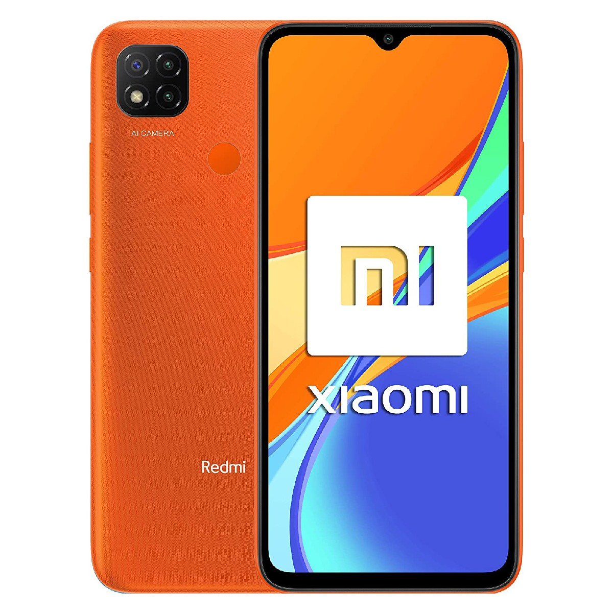 "Xiaomi Redmi 9C Dual Sim 6.53"" 2GB/32GB 4G NFC Πορτοκαλί M2006C3MNG"