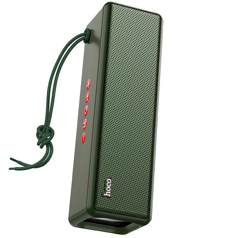 Φορητό Ηχείο Wireless Hoco HC3 BounceTWS Σκούρο Πράσινο V5.0 2X5W, 2400mAh, IPX4, Μικρόφωνο, FM, USB & AUX θύρα, Micro SD