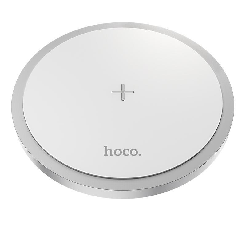 Επιτραπέζια Βάση Ασύρματης Φόρτισης Hoco CW26 Powerful 5V/2A Fast Charging έως 15W Λευκό