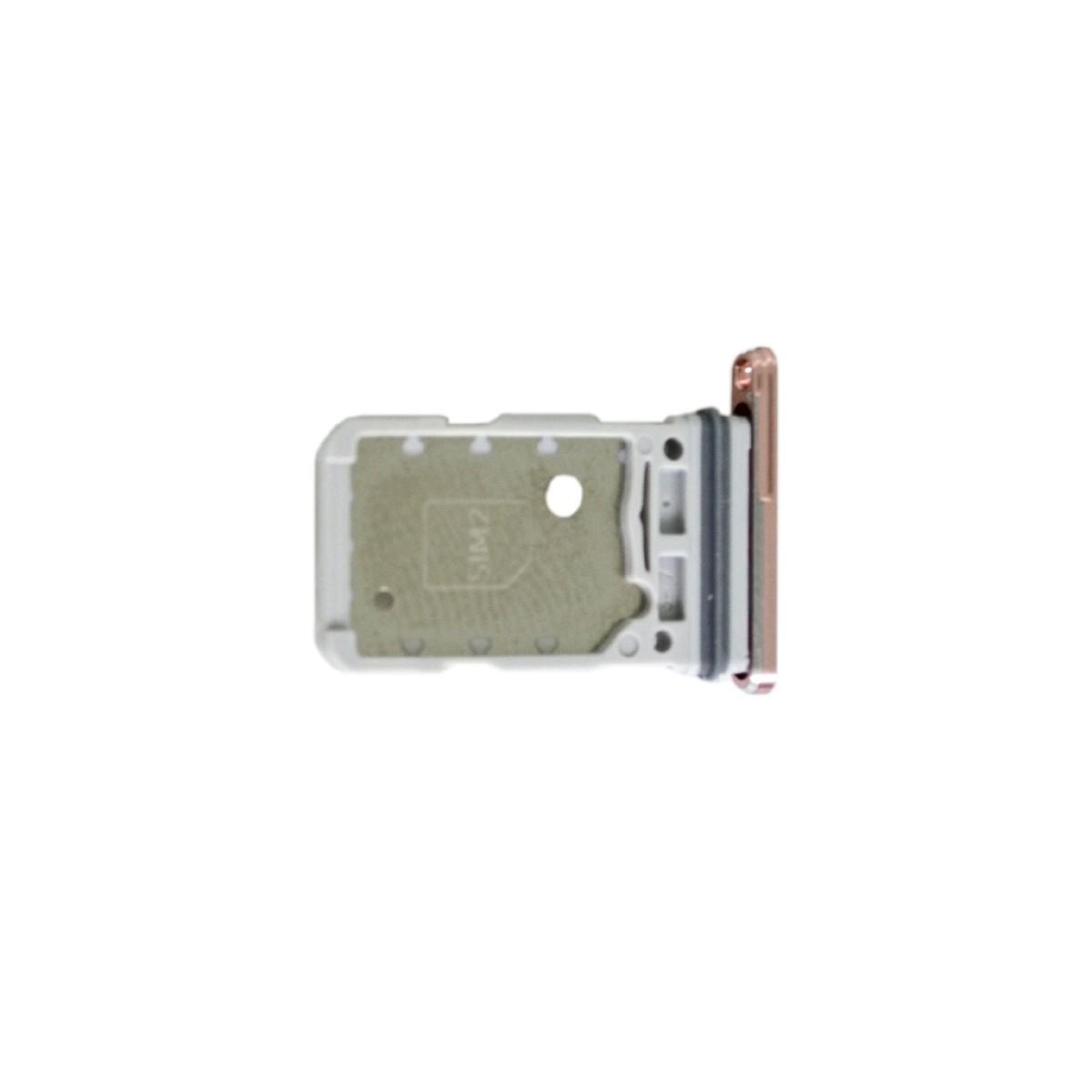 Βάση Κάρτας Sim Samsung SM-G991B Galaxy S21 5G Μωβ Original GH98-46193B