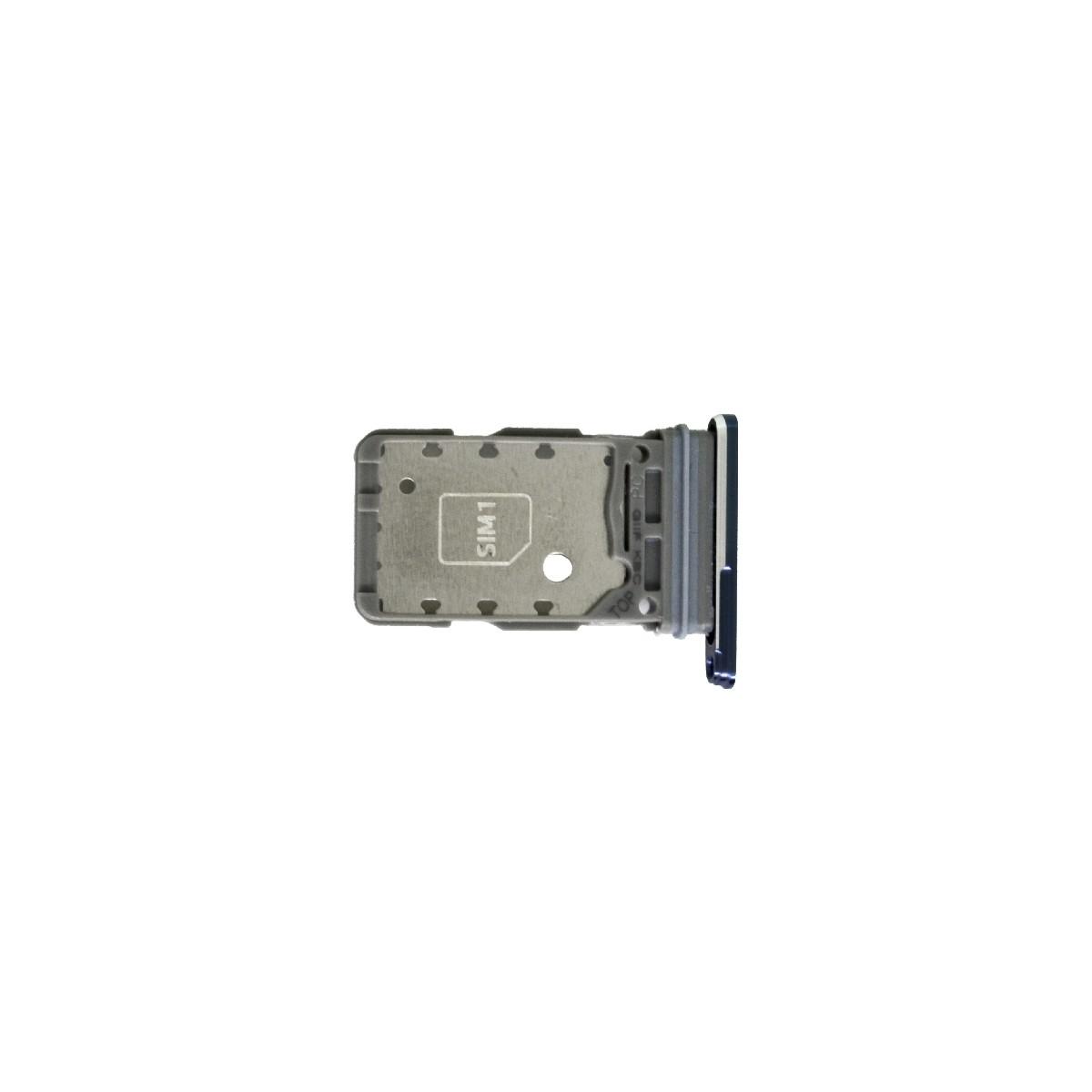 Βάση Κάρτας Sim Samsung SM-G991B Galaxy S21 5G Γκρι Original GH98-46193E