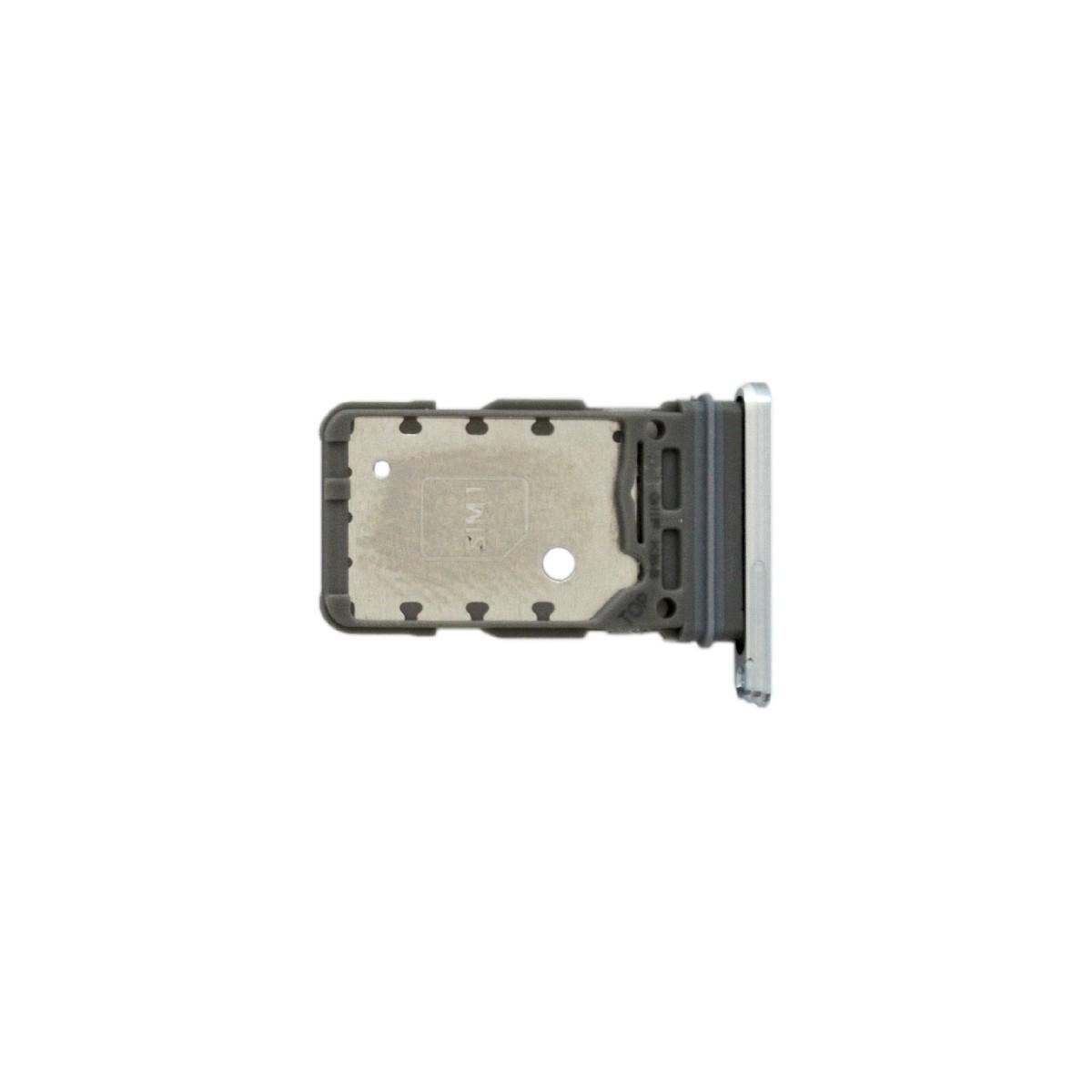 Βάση Κάρτας Sim Samsung SM-G991B Galaxy S21 5G Λευκό Original GH98-46193F