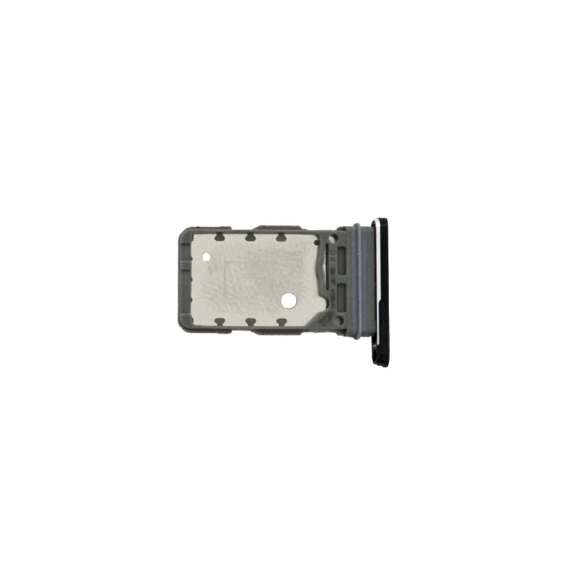Βάση Κάρτας Sim Samsung SM-G998B Galaxy S21 Ultra 5G Μαύρο Original GH98-46258A