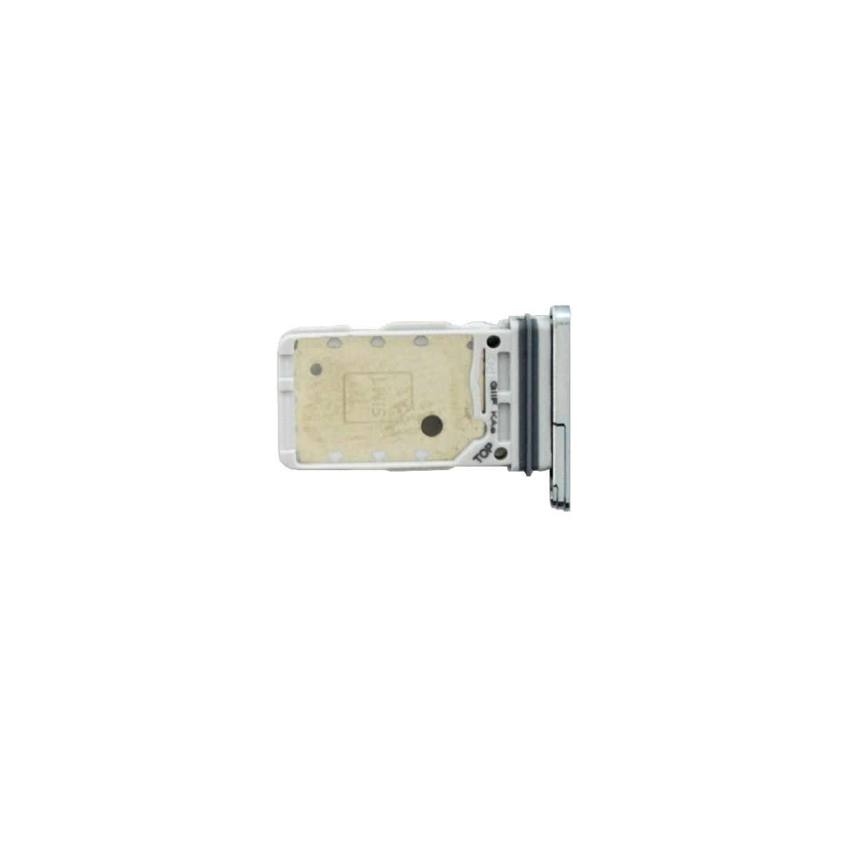 Βάση Κάρτας Sim Samsung SM-G998B Galaxy S21 Ultra 5G Ασημί Original GH98-46258B