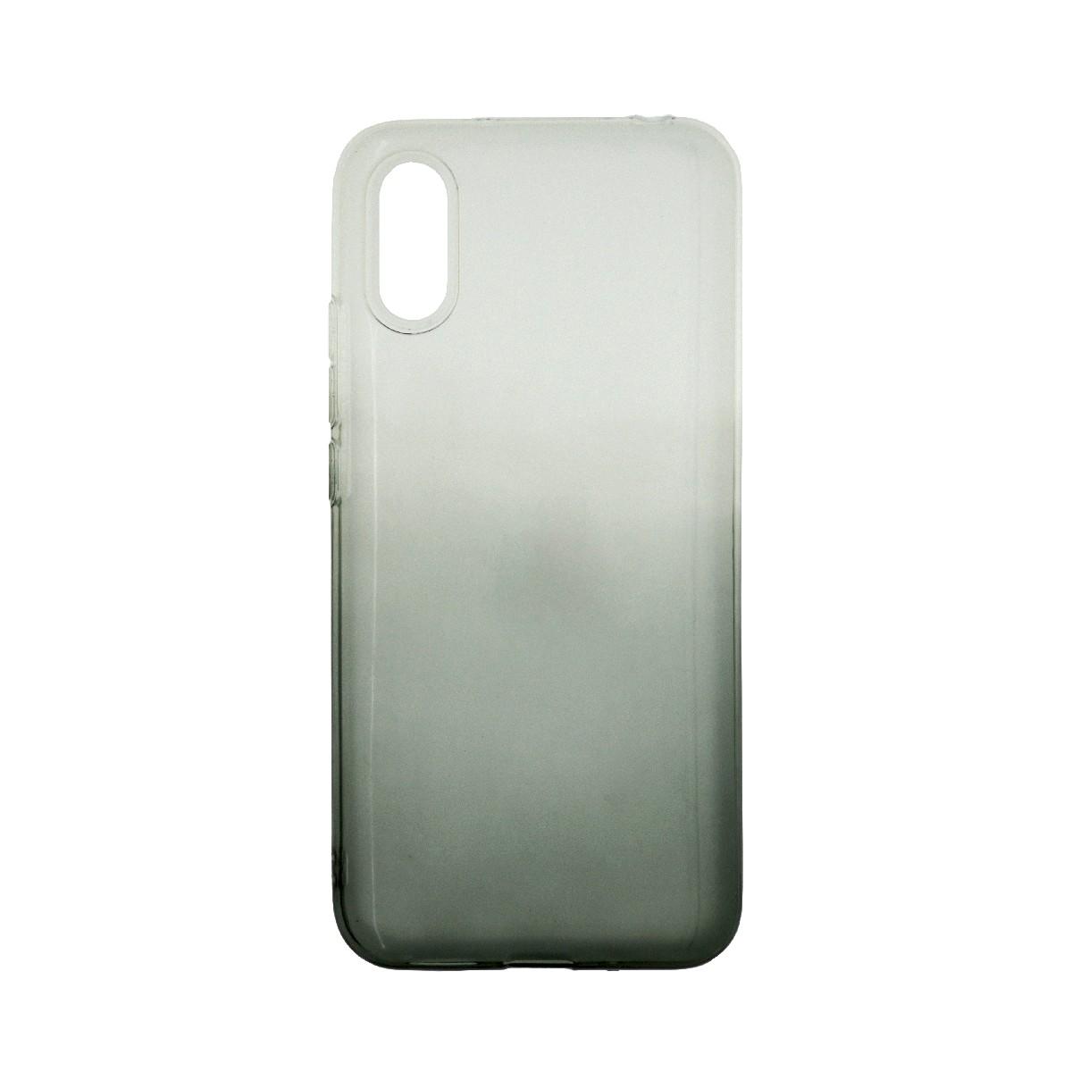 Θήκη Ancus Faceplate 2-in-1 Strass για Xiaomi Redmi 9A Μαύρη-Διάφανη