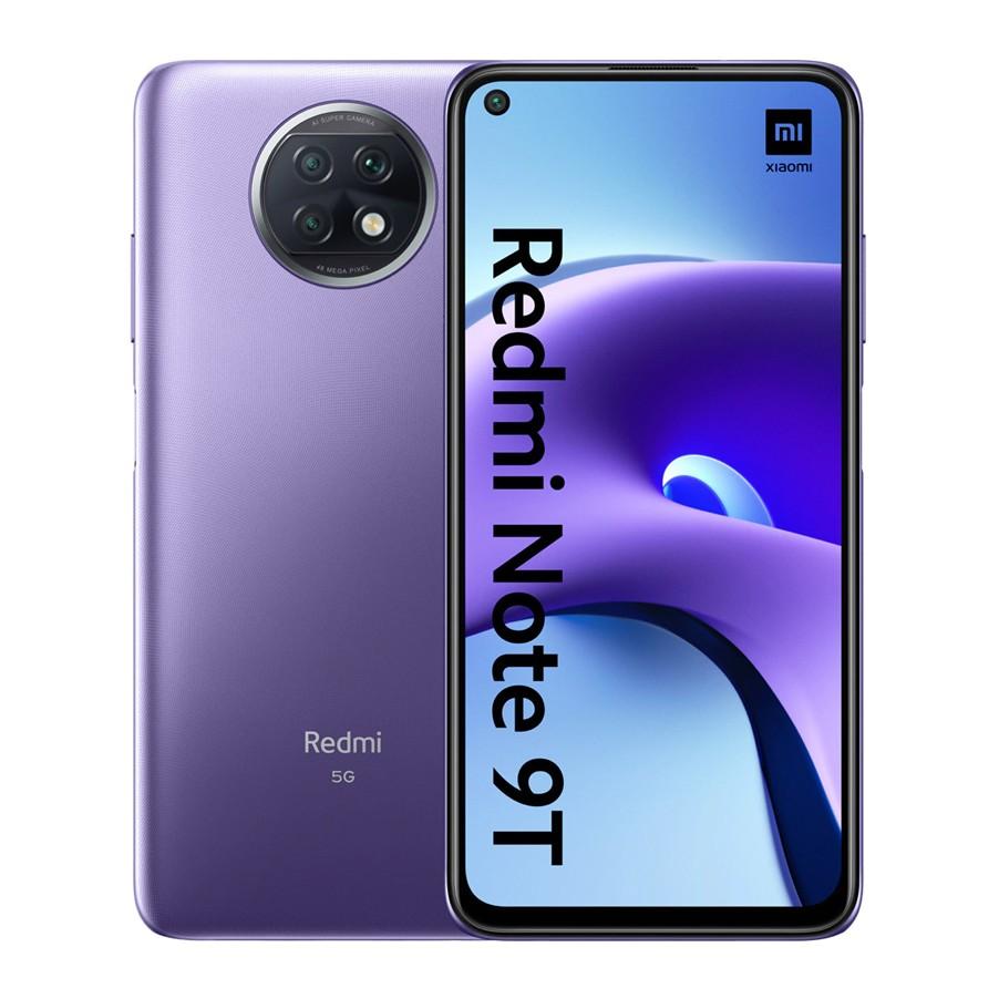 """Xiaomi Redmi Note 9T 5G Dual Sim 6.53"""" 4GB/128GB Μώβ NFC M2007J22G"""