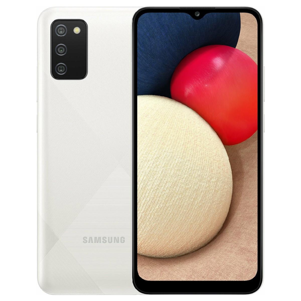 Samsung SM-A025F/DS Galaxy A02s Dual Sim 6.5'' 4G 3GB/32GB Λευκό